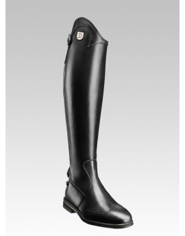 PUNCHED LEATHER TALL RIDING BOOTS MARILYN