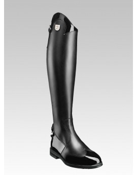 PATENT LEATHER TALL RIDING BOOTS MARILYN